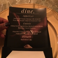 Menu at Dine