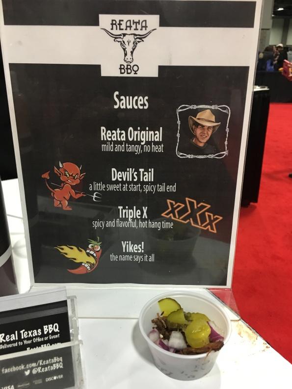 Brisket with Devil's Tail Sauce (Reata BBQ)