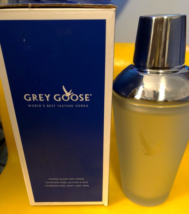 Grey Goose Mixing Glass